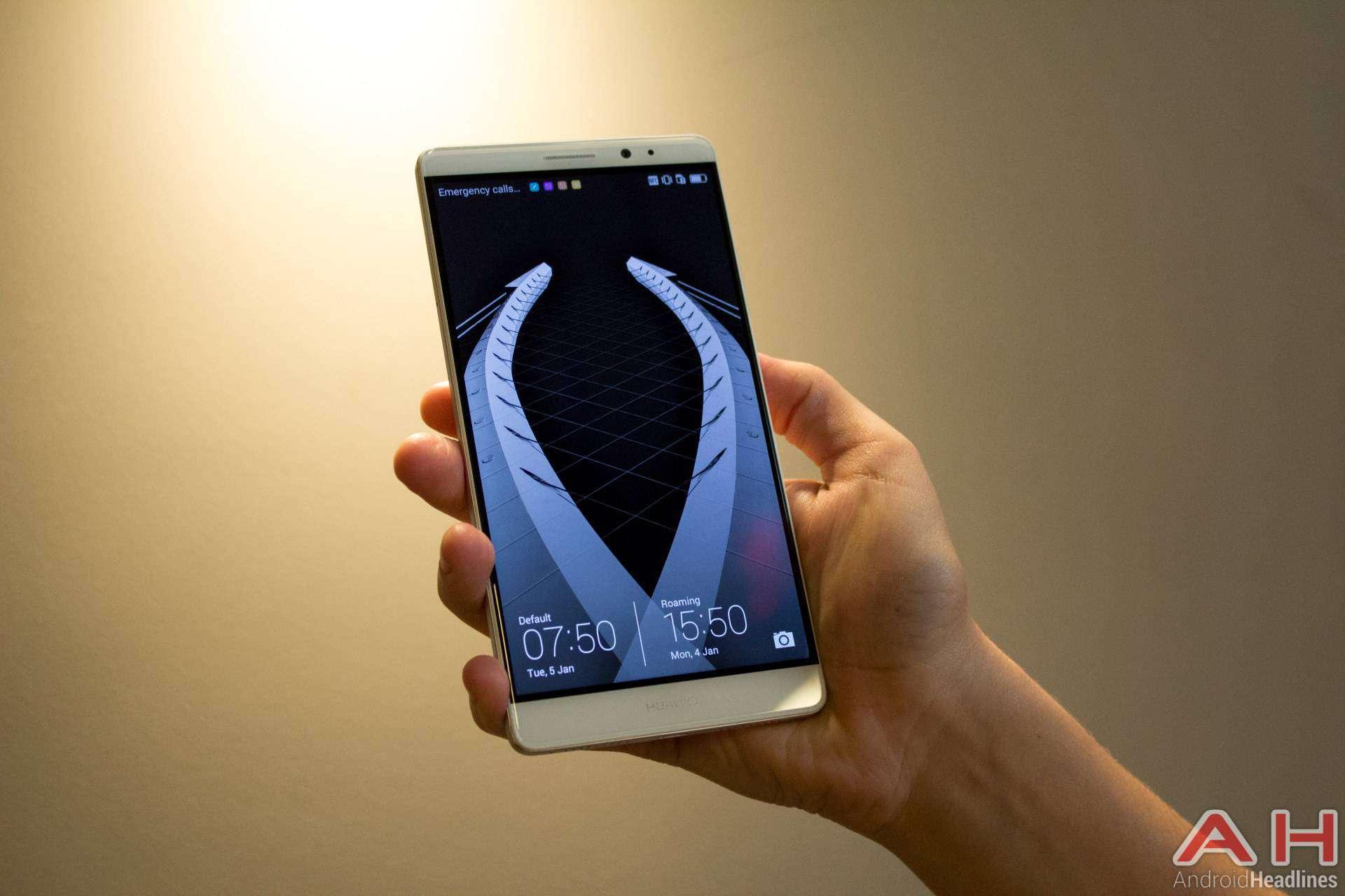 Huawei Mate 8 CES 2016 AH 16