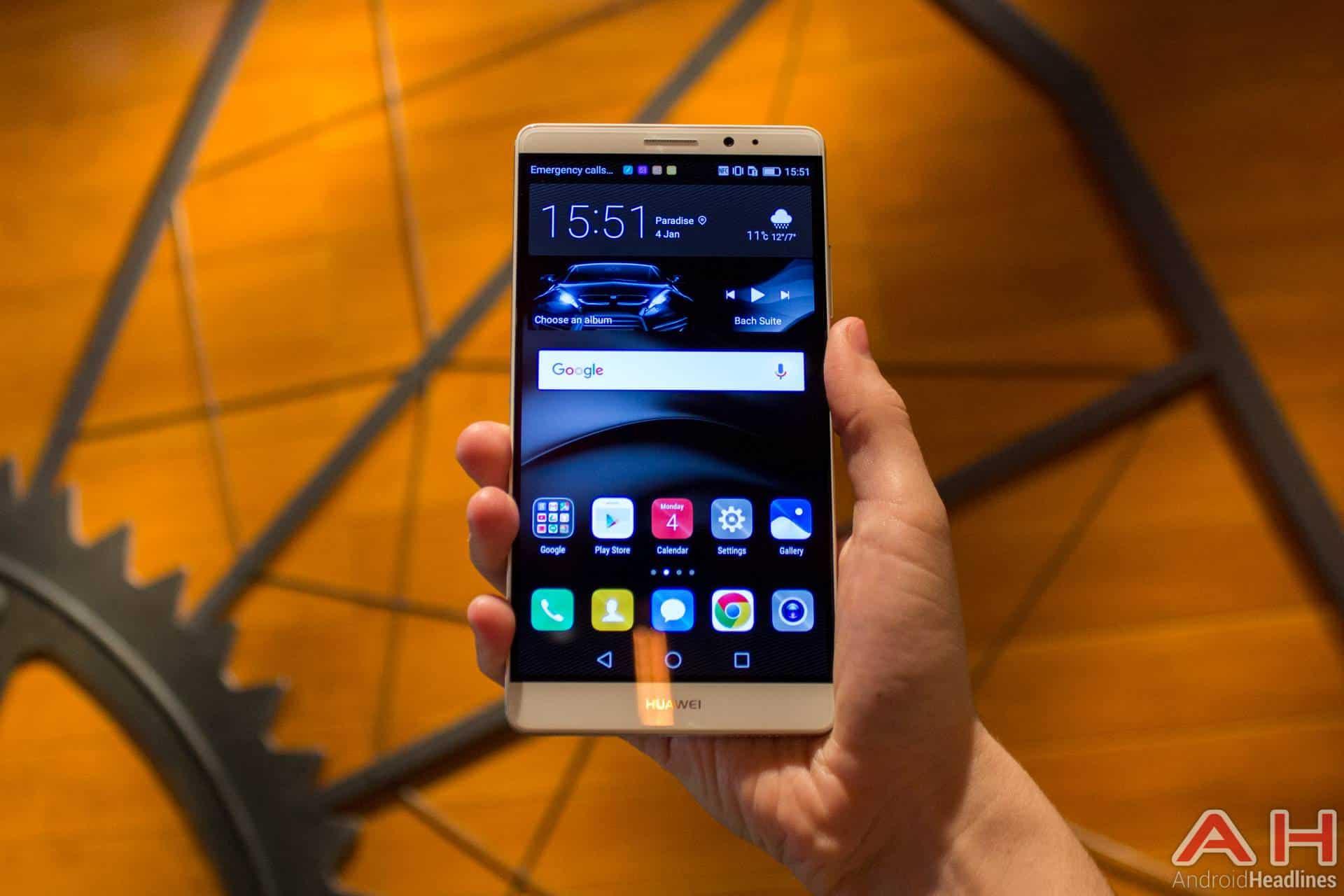 Huawei Mate 8 CES 2016 AH 18