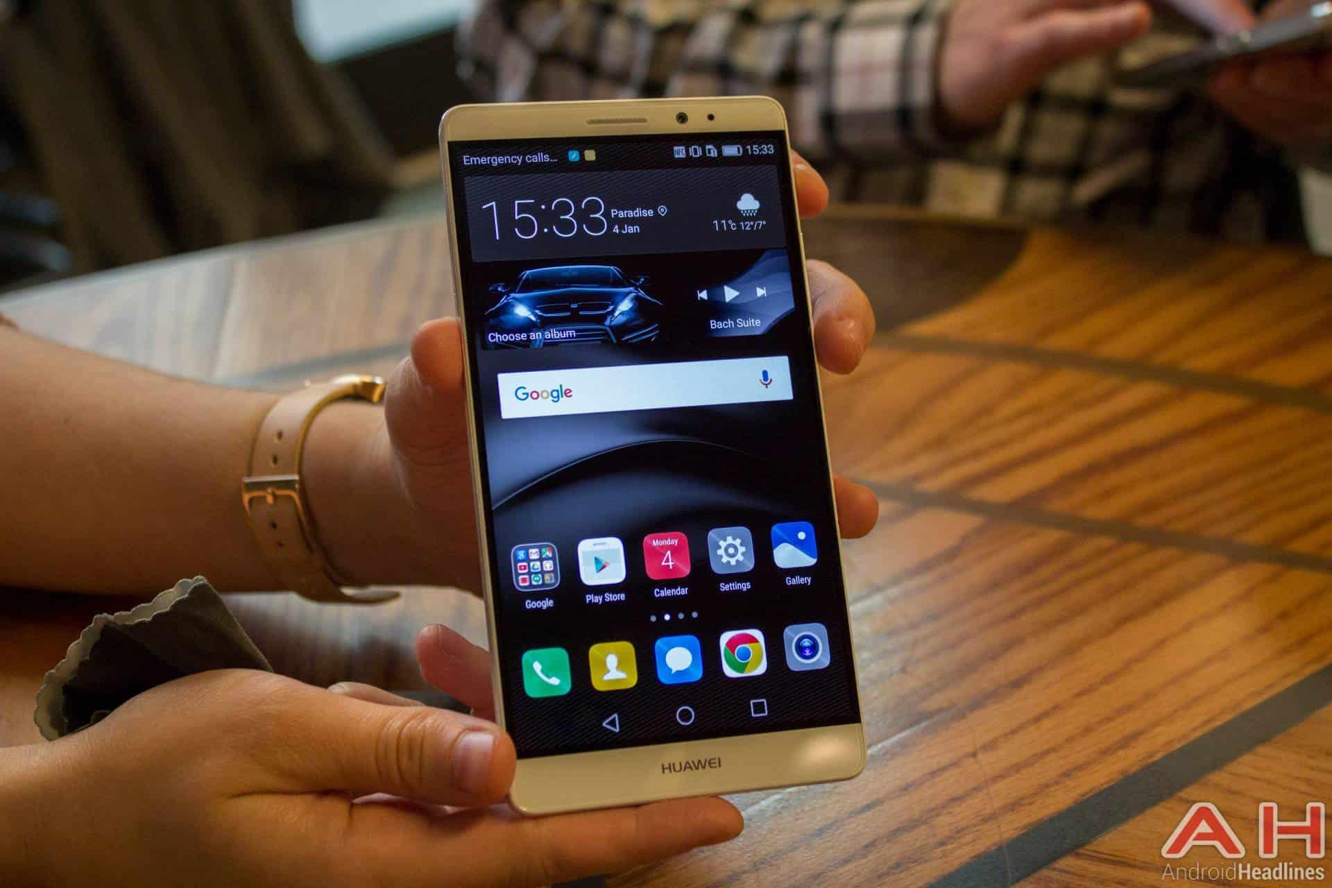 Huawei Mate 8 CES 2016 AH 2