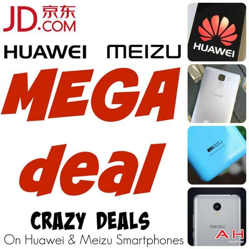JD.com Mega Deal Huawei Meizu Sale 3