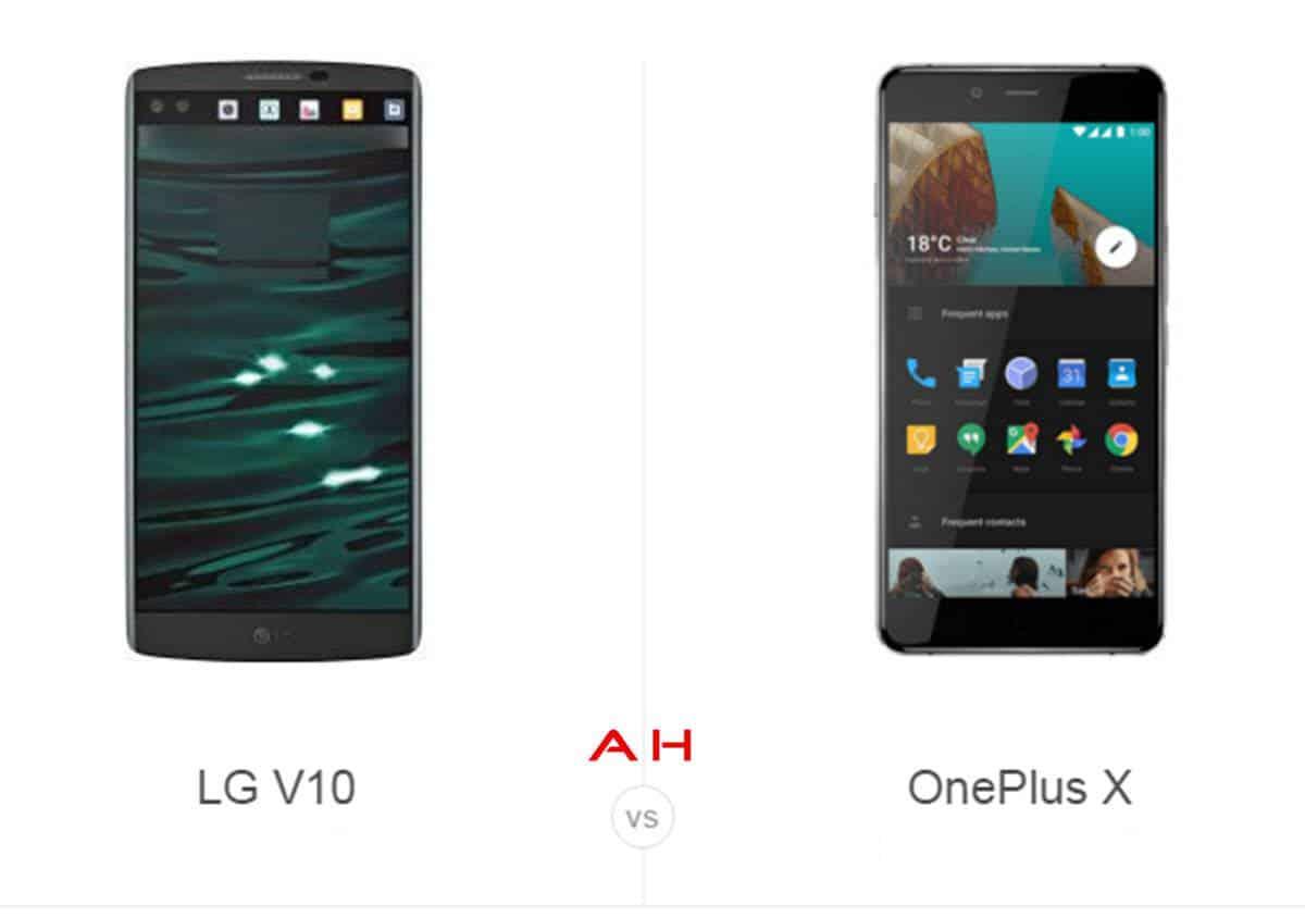 LG V10 vs OnePlus X cam AH