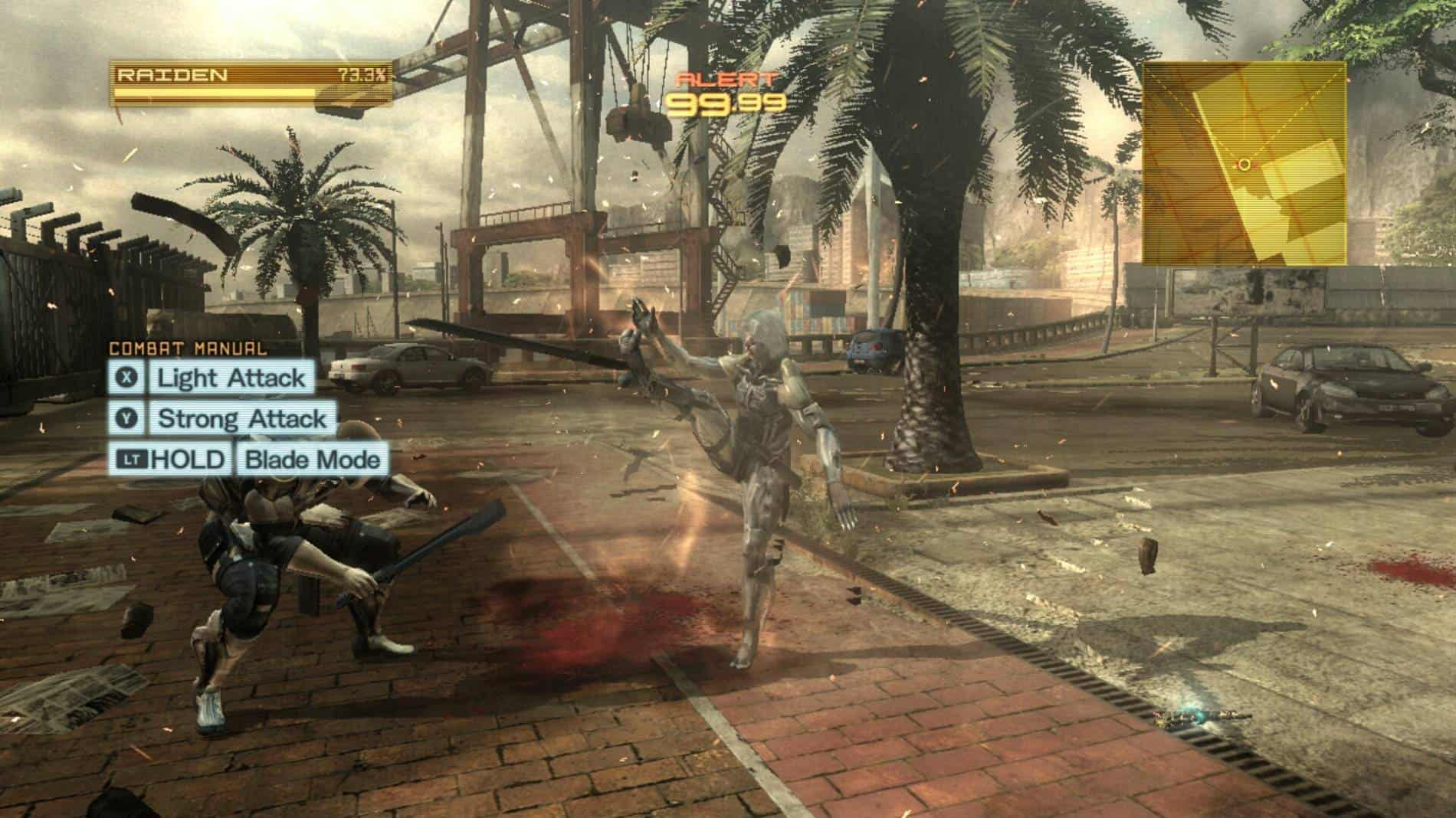 Metal Gear Rising- Revengeance SHIELD 02