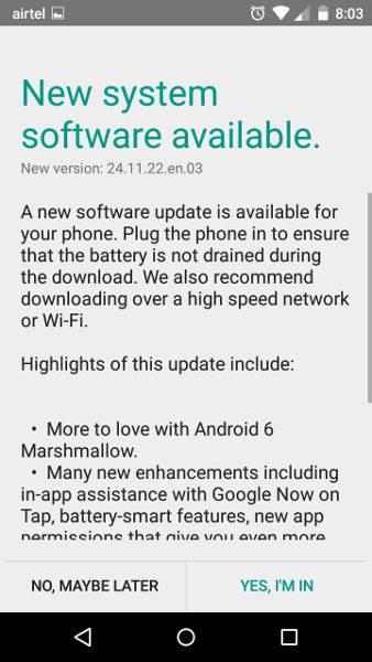 Motorola Moto G Turbo Edition Marshmallow update_1