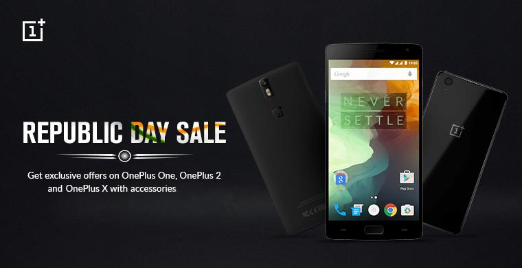 OnePlus' Republic Day sale India 2016_1