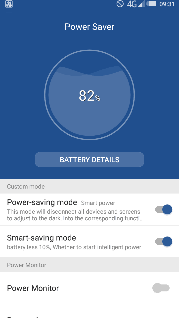 Oukitel K1000 Screenshot Battery Screen