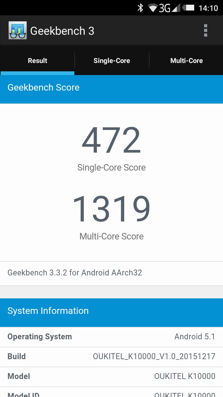 Oukitel K1000 Screenshot Benchmark 2