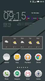 Oukitel K1000 Screenshot Interface 1