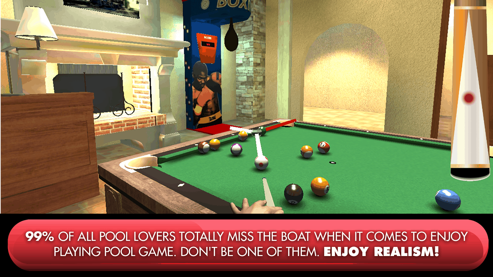 POOL SIMULATOR- Real 3D 8 Ball