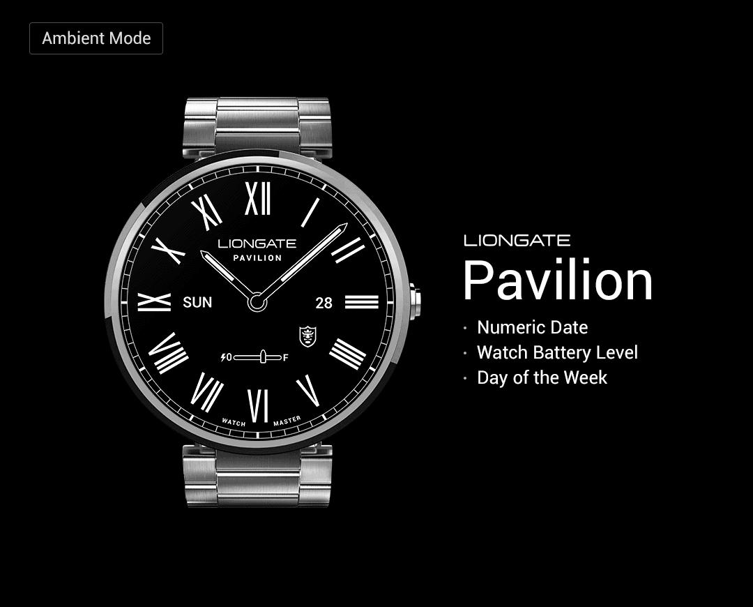 Pavilion watchface