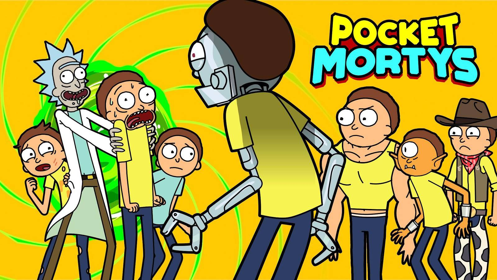 Pocket Mortys official image_1
