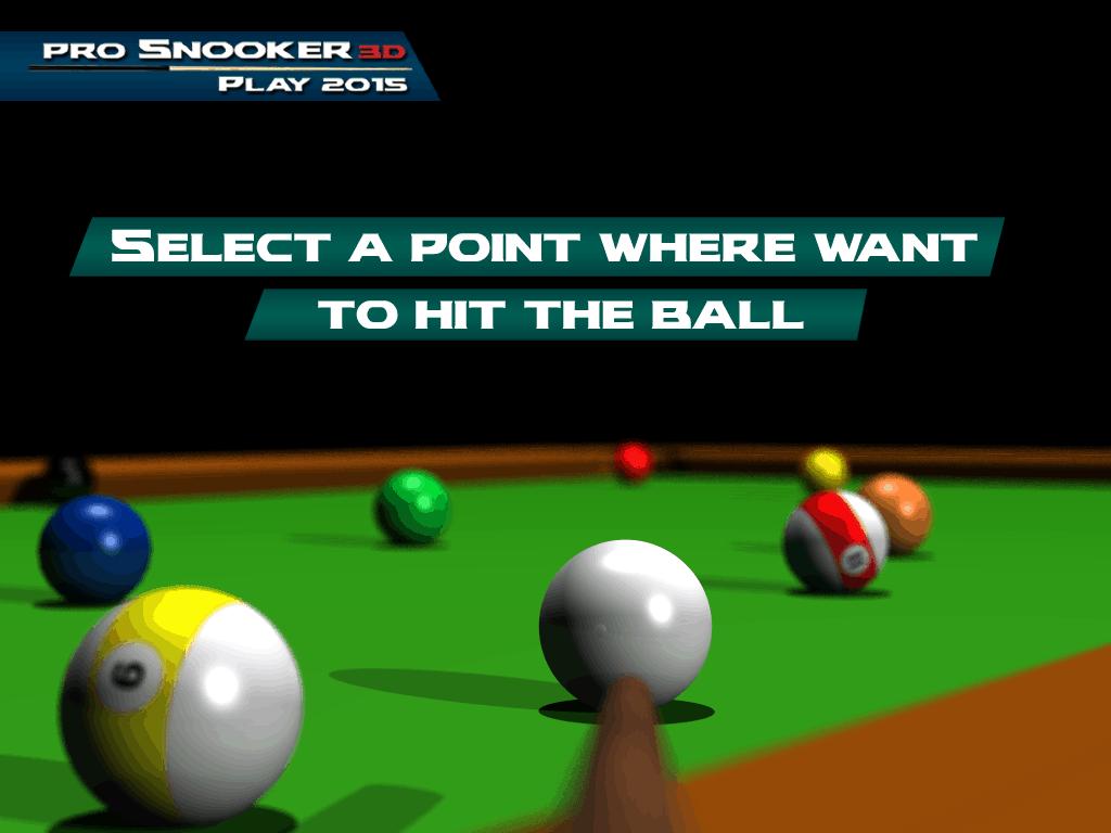 Pro Snooker 3D Play 2015