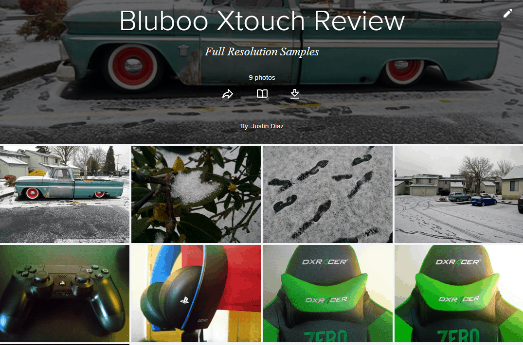 Xtouch camera samples