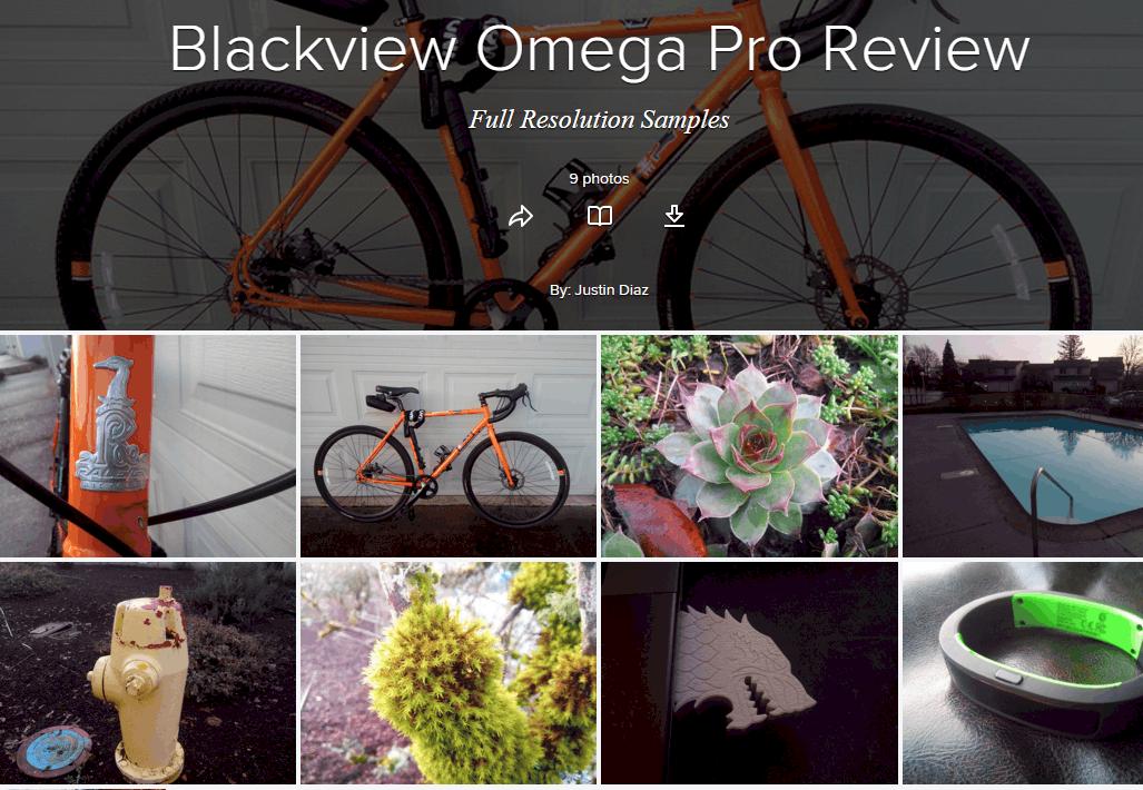 Omega Pro Camera Samples