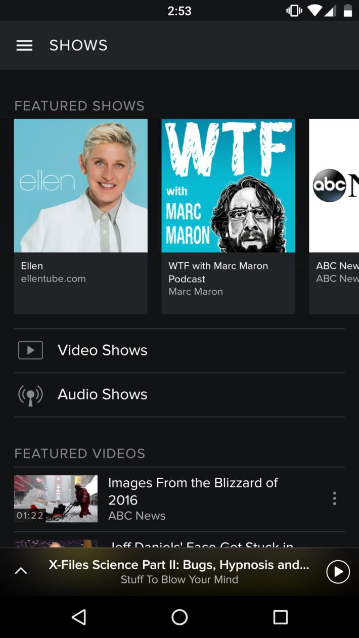 Spotify Shows