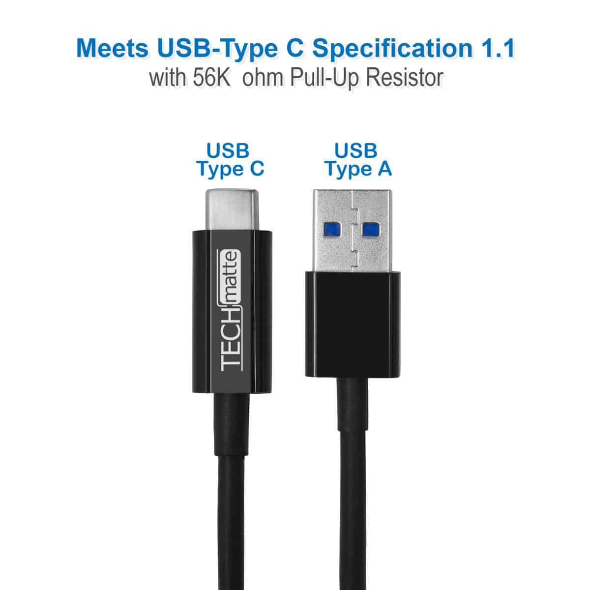 TechMatte USB C Cables-1