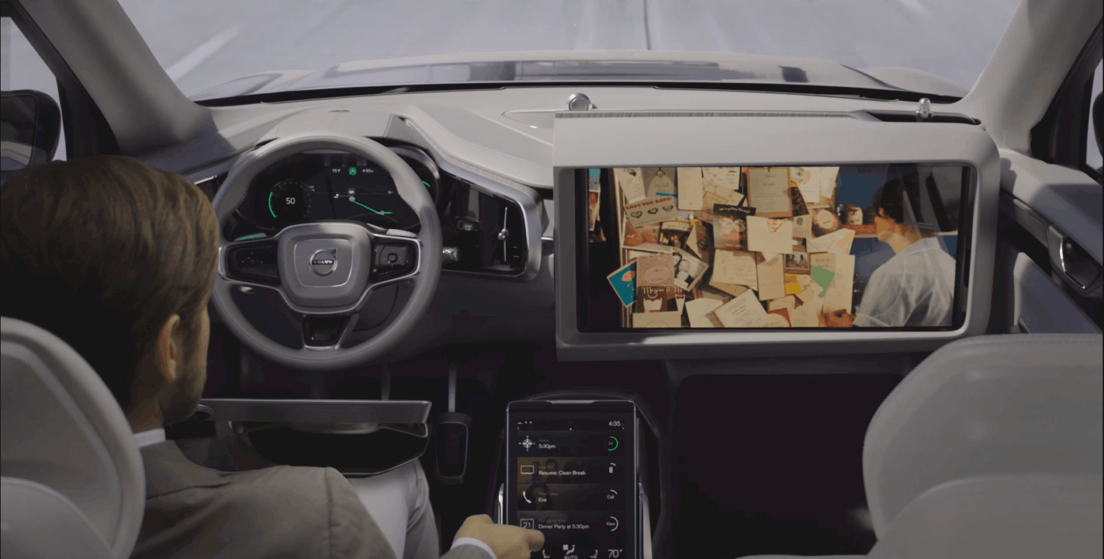Volvo Concept 26 Uninterrupted Streaming