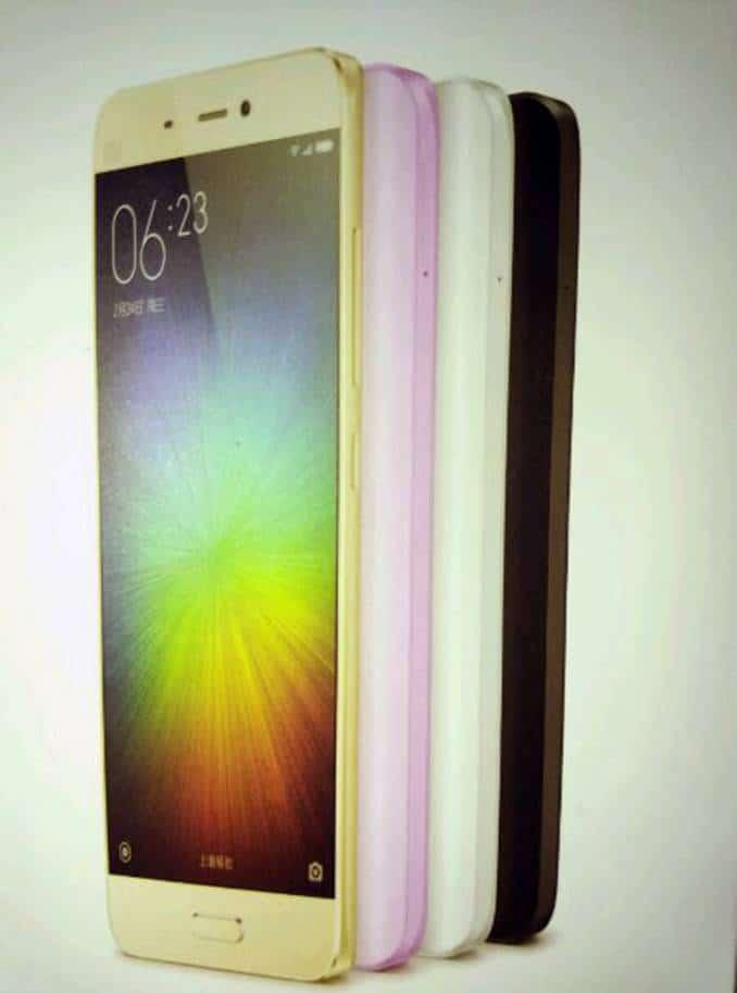 Xiaomi Mi 5 colors 1