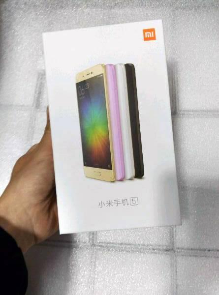 Xiaomi Mi 5 colors 3