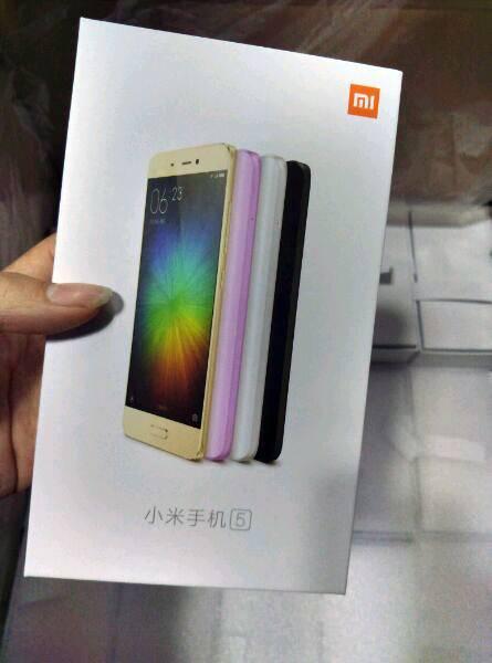 Xiaomi Mi 5 colors 4