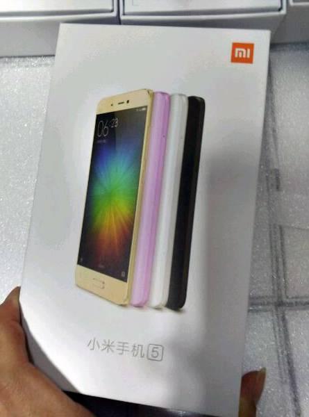 Xiaomi Mi 5 colors 5