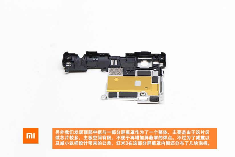 Xiaomi Redmi 3 teardown 8