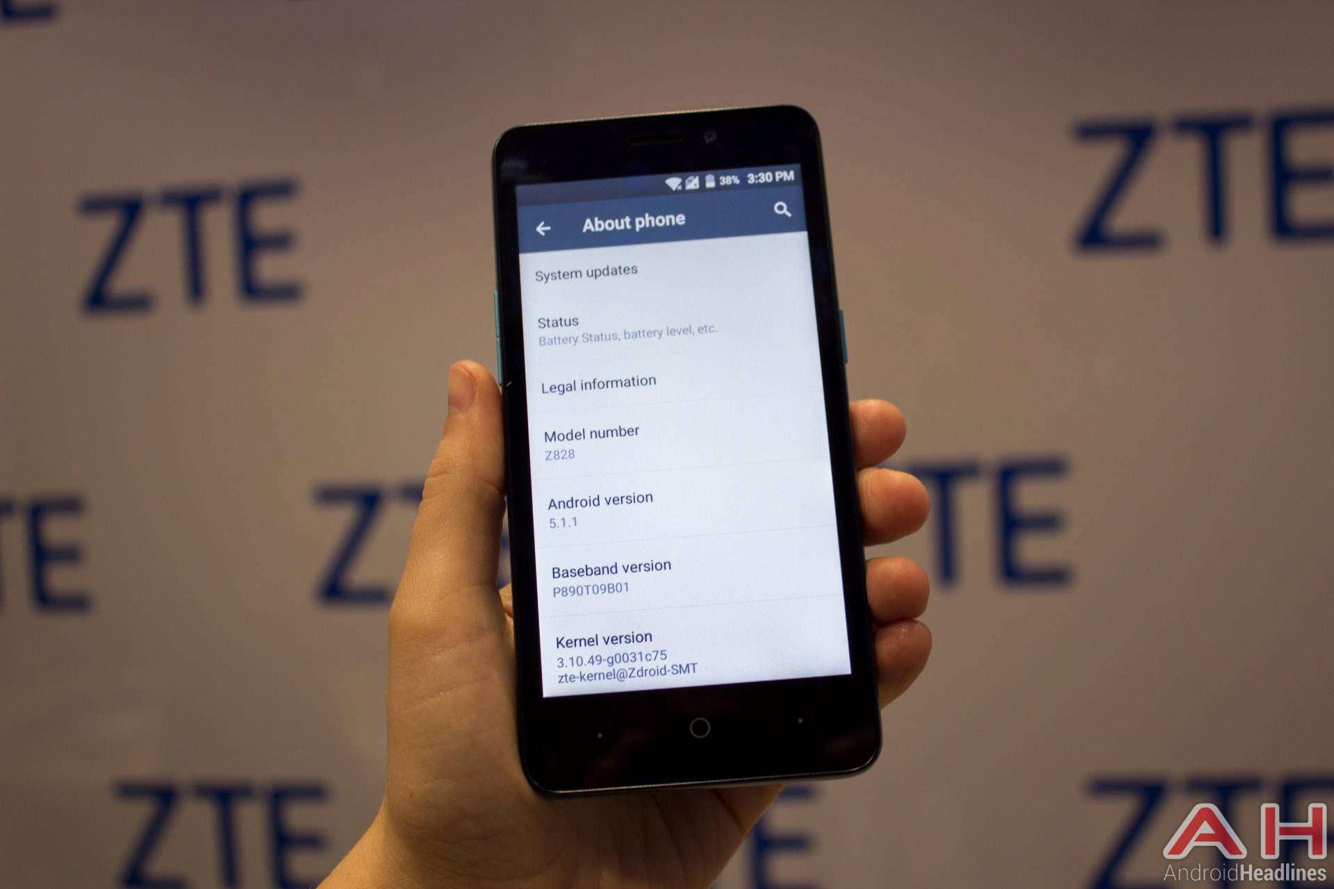 ZTE Avid Plus 3