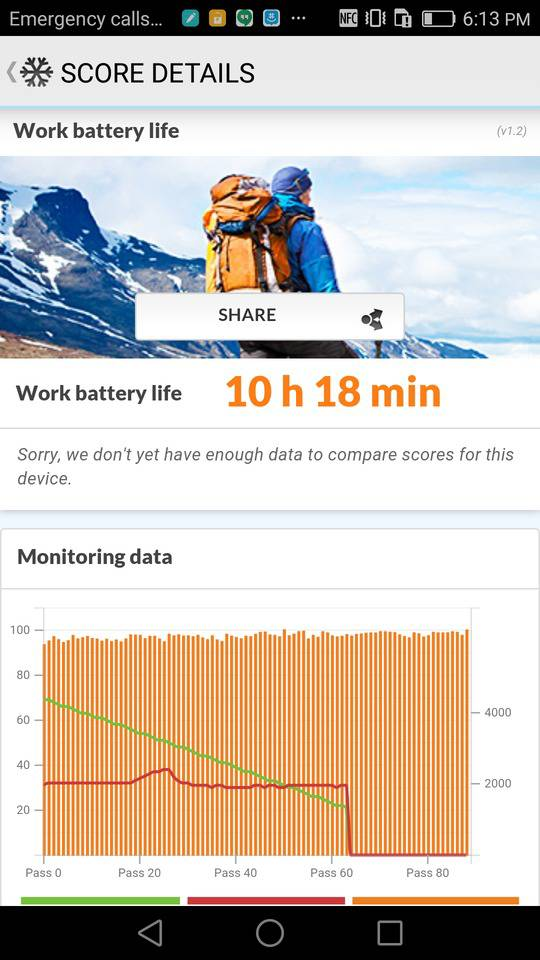 huawei mate 8 screenshot battery 1