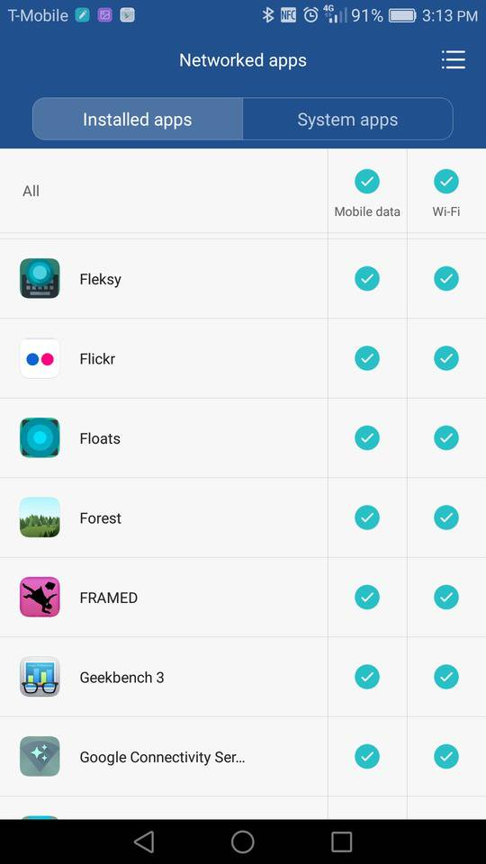 huawei mate 8 screenshot data 4