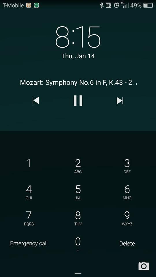 huawei mate 8 screenshot lockscreen