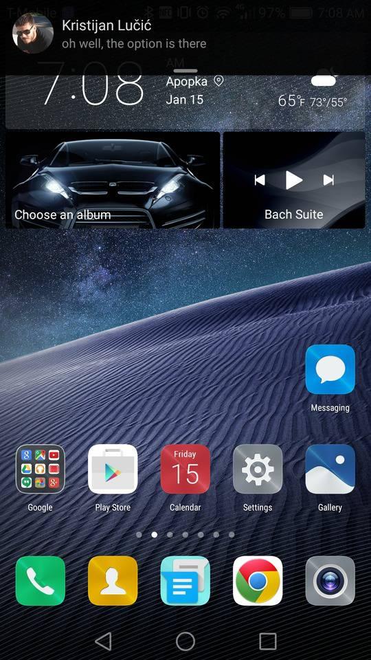 huawei mate 8 screenshot notifications 1