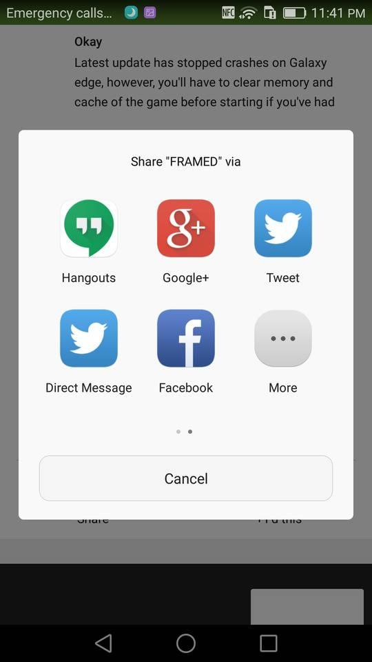 huawei mate 8 screenshot sharing