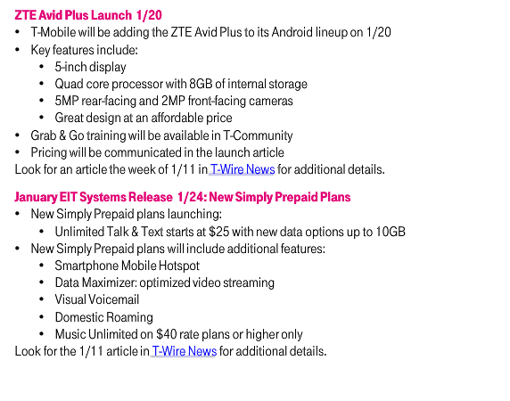 TMobile New Simply Prepay T-Mobile