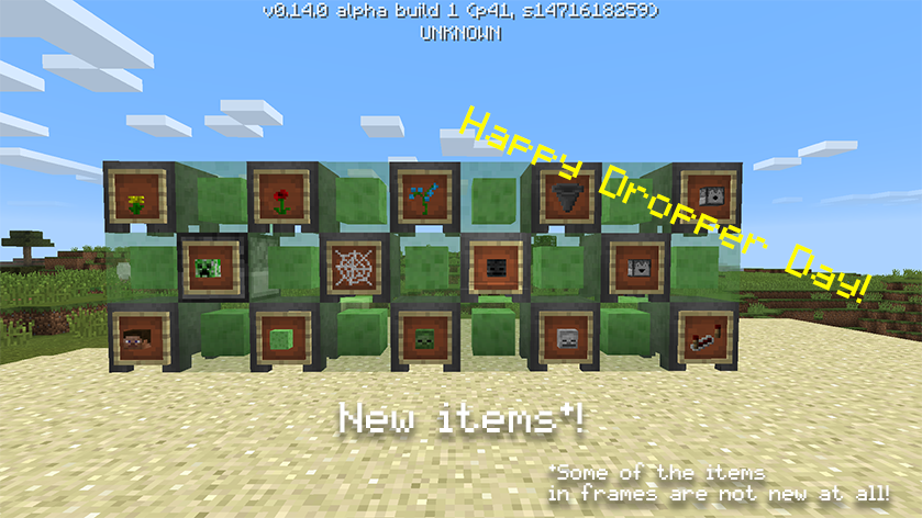 Minecraft PE beta