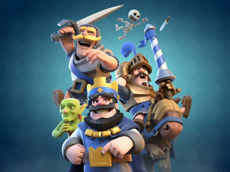 splash characters clash royale supercell