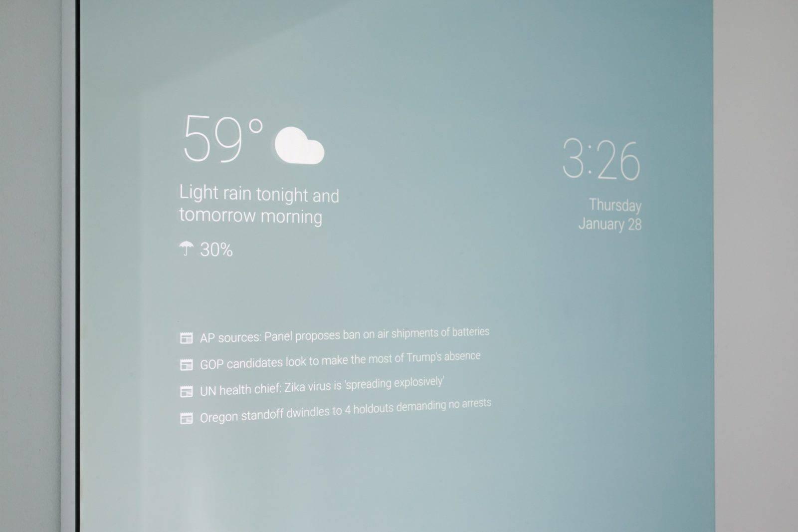 DIY Smart Mirror