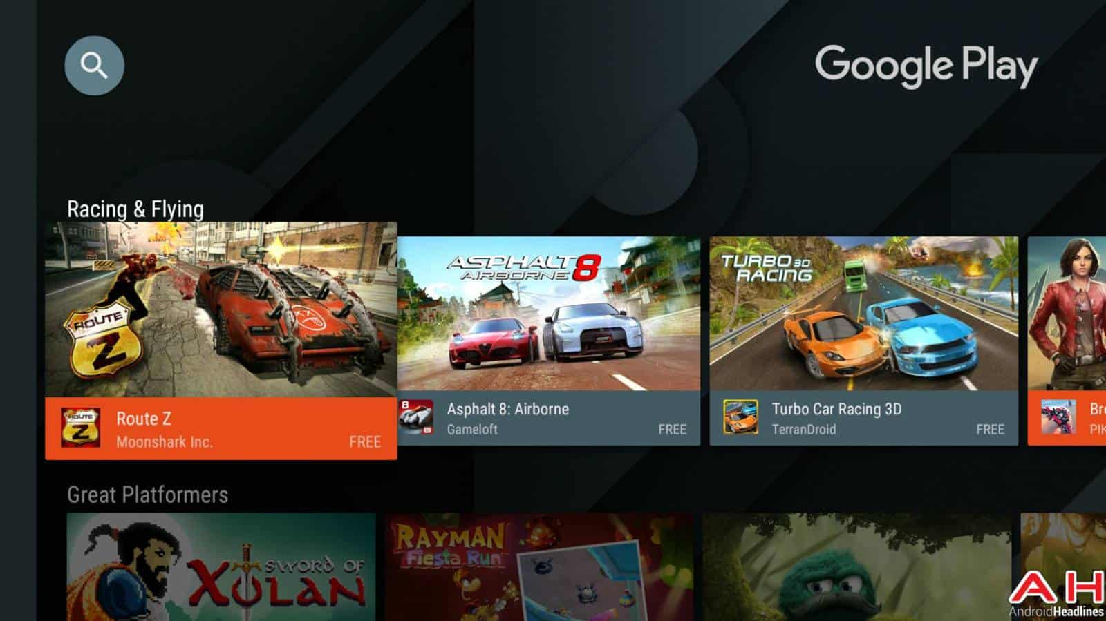 Android TV Games AH-1