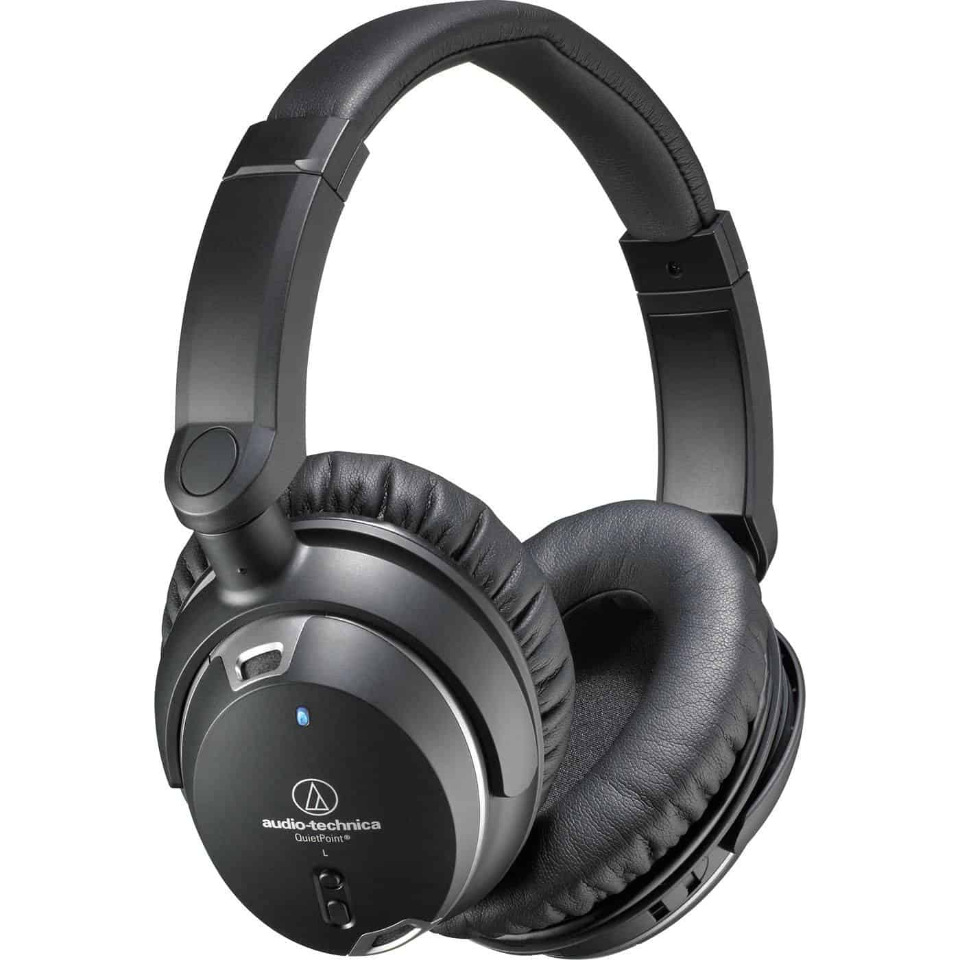 Audio-Technica ATH-ANC9 QuietPoint Noise-Cancelling Headphones 04