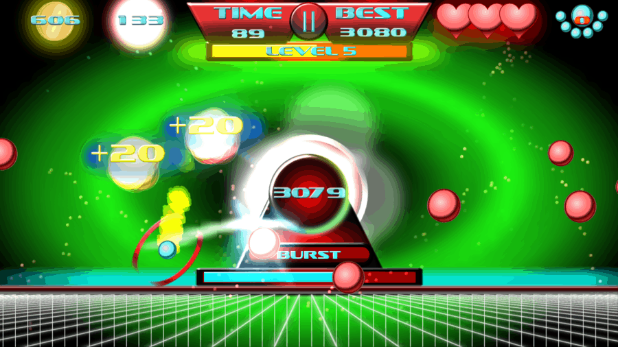 Ball Attack high score