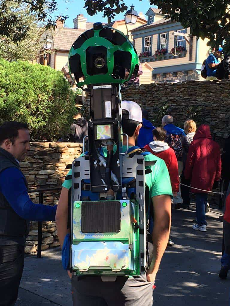 Street View camera rig