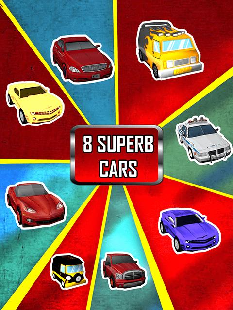 Cash Or Crash- Getaway Drive cars