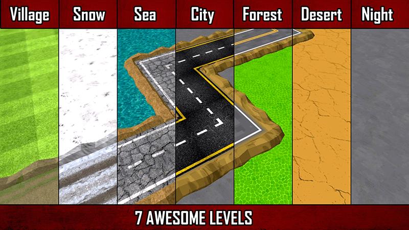 Cash Or Crash- Getaway Drive levels