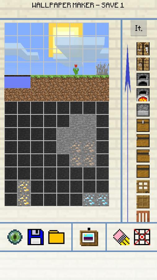 Create Wallpaper Minecraft