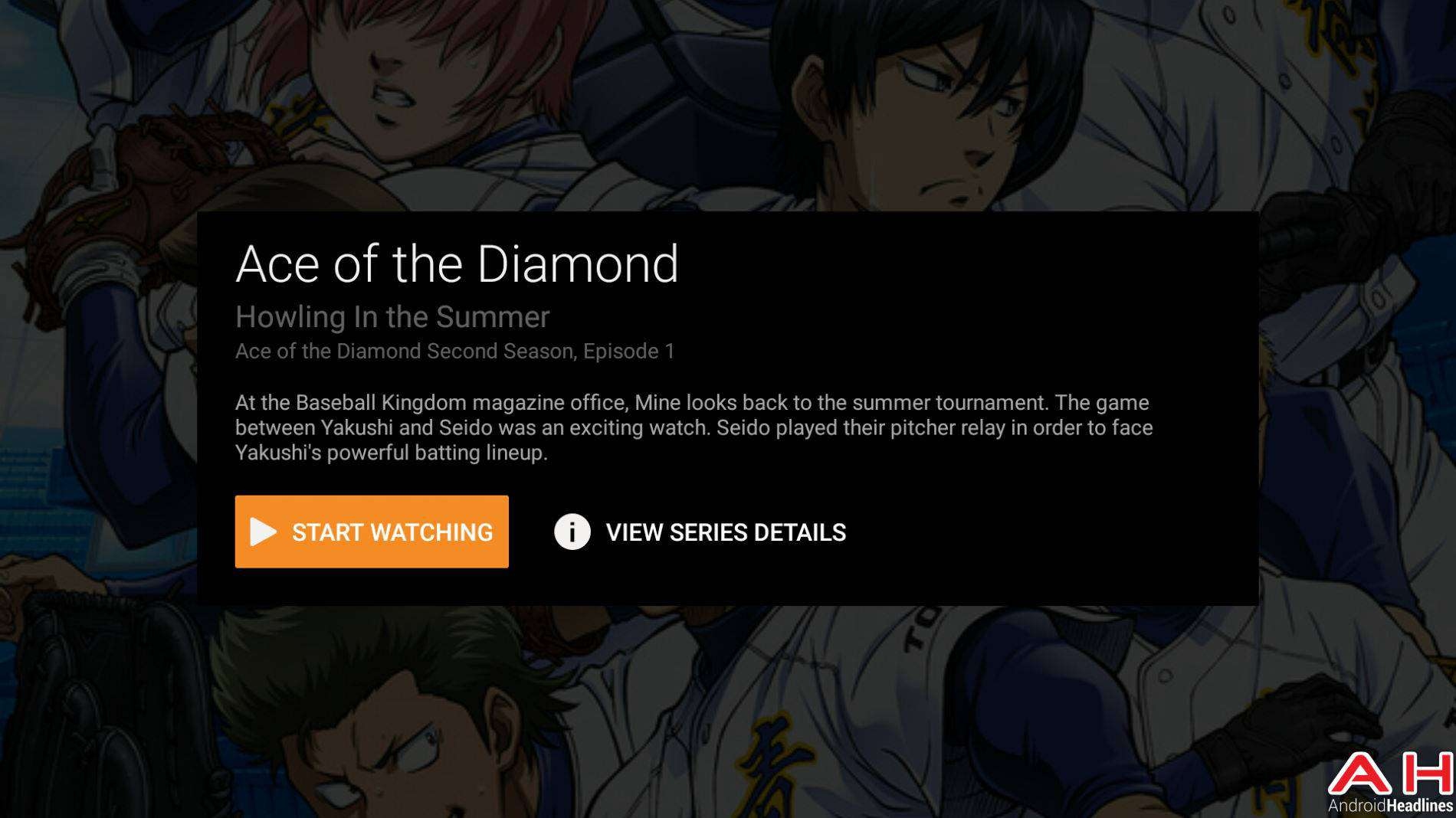 Crunchyroll Android TV AH-8