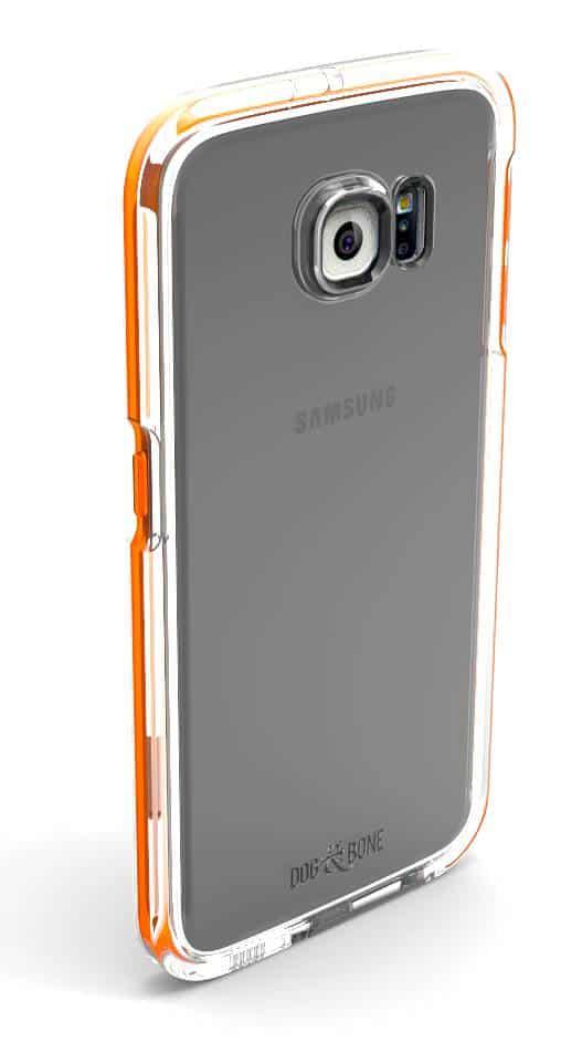 DogBone Galaxy S7 Splash Case Orange