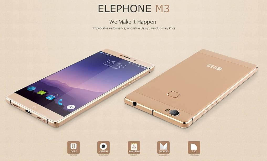 Elephone M3 main