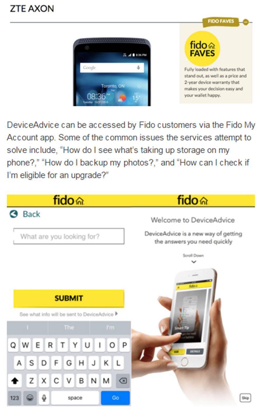 Fido DeviceAdvice Faves
