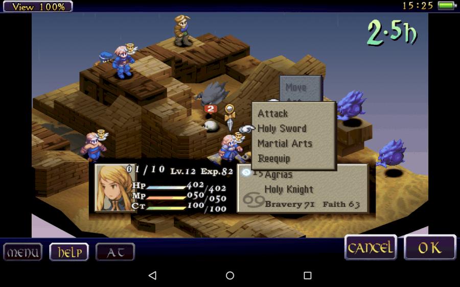 Final Fantasy Tactics- War of the Lions