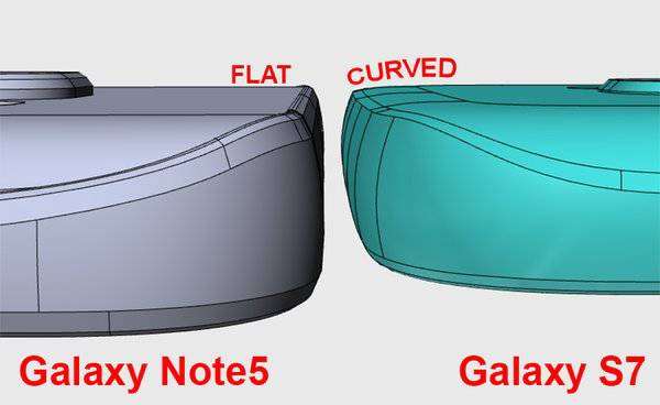 Galaxy S7 Curved Back