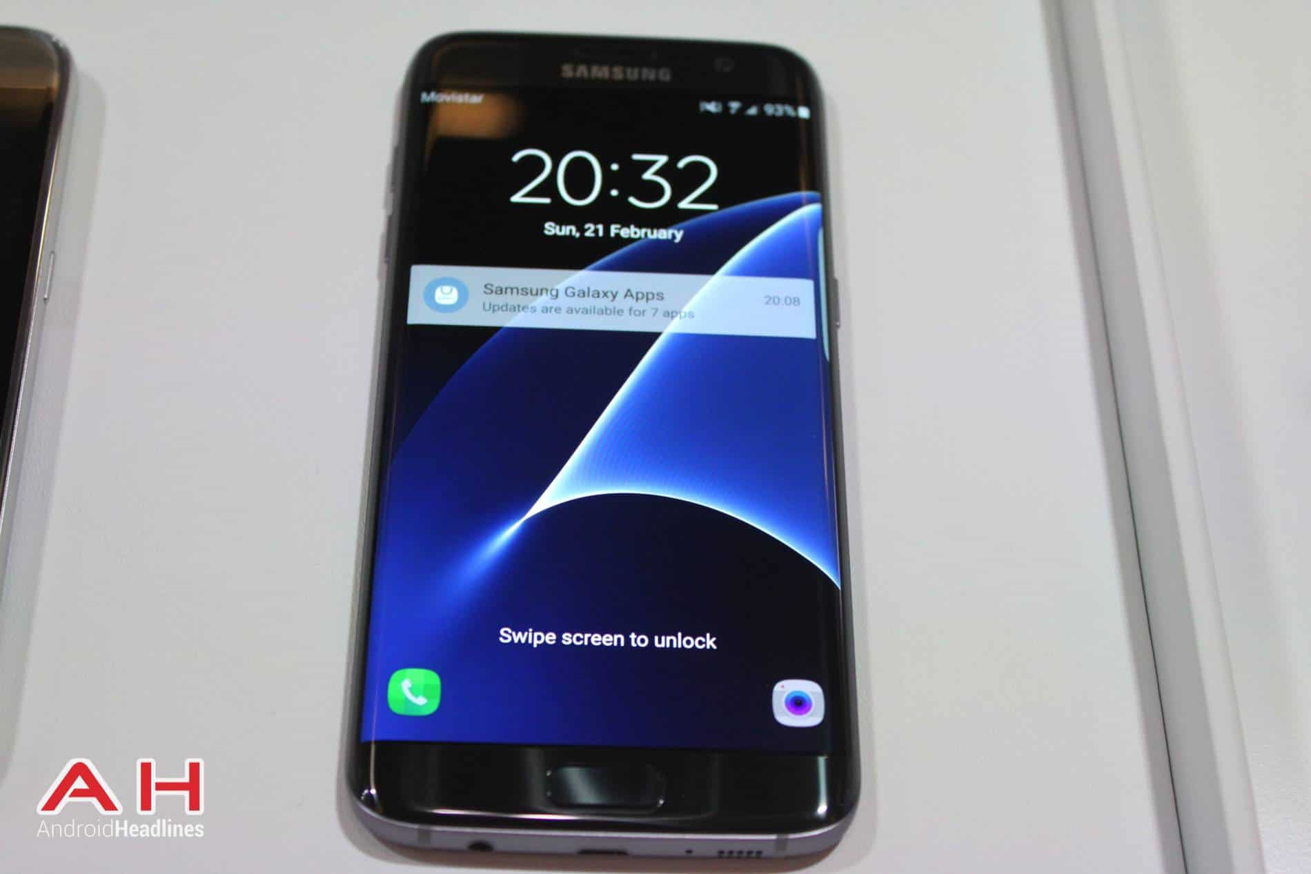 Galaxy S7 Edge MWC AH 2