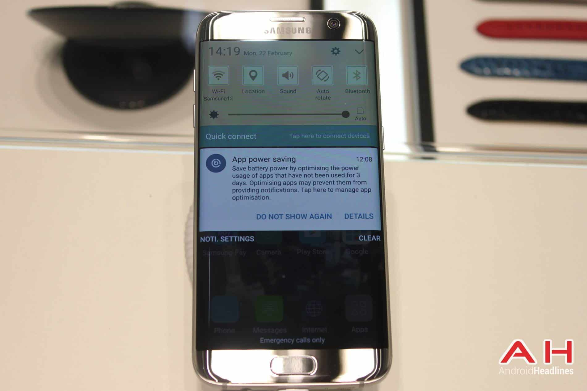 Galaxy S7 Edge MWC Booth AH 1